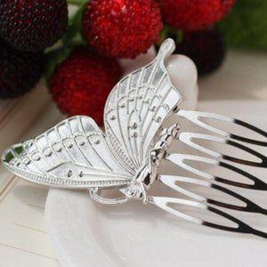 (BI) butterfly hair clip